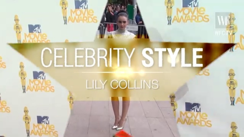Lily Collins Celebrity style