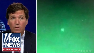 Tucker reacts to video of UFO confirmed by Pentagon