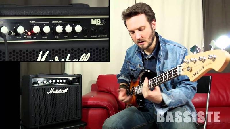 Test : Marshall MB15 - Bassiste Magazine 47