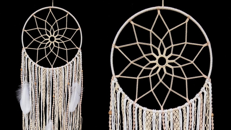 Creative Wall Hanging Ideas That Will Take Your Home To The Next Level How to tie easy knot pattern