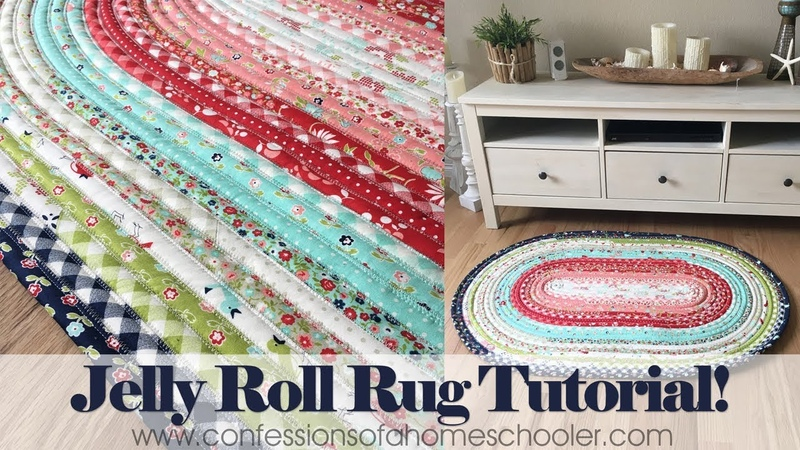 Official Jelly Roll Rug Tutorial