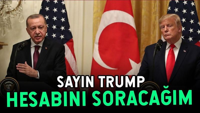 Erdoğan ABD'ye Resmen Hesap Sordu BUNUN HESABINI VERECEKSİNİZ