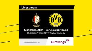 LIVE: Standard Lüttich - BVB | Das erste Testspiel 2020