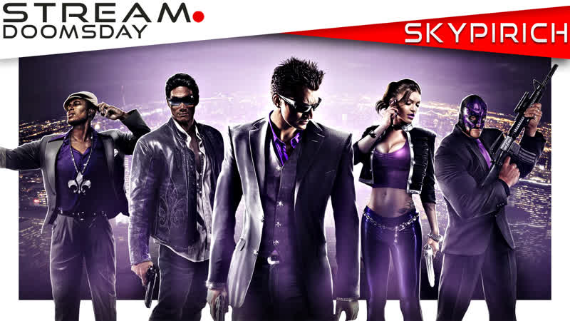 Бон-Боны врываются в неоновый город Saints Row The Third