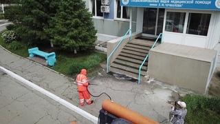 🦠 Второй этап тотальной дезинфекции в Ленинском районе завершился.
