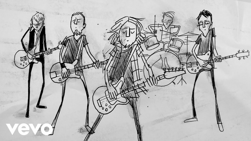 Pearl Jam - Superblood Wolfmoon (Tiny Concert Animated Video)