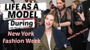 What It's Like To Model During New York Fashion Week What Models Eat For The Runway Sanne Vloet