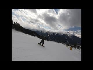 вальс цветов на сноуборде