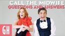 Call The Midwife's Stephen McGann Laura Main answer your questions | Good Housekeeping UK