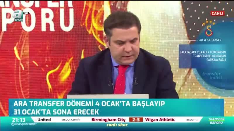 Galatasaray İlk Transferi Tamamladı - Devre Arası Kampına Katılıyor - Transfer Raporu - 01.01.20