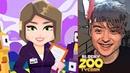 Игра от Ивангая! Blocky Zoo Tycoon - Idle Clicker Game! 1