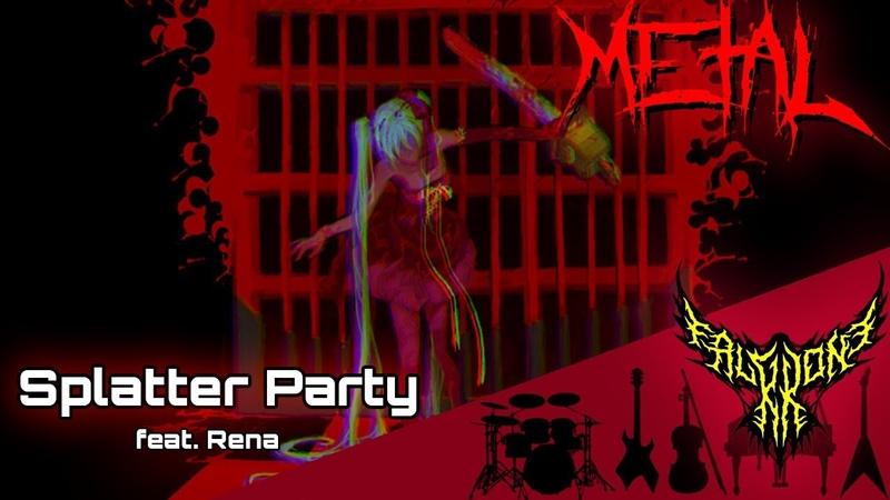 Splatter Party feat Rena Intense Symphonic Metal Cover