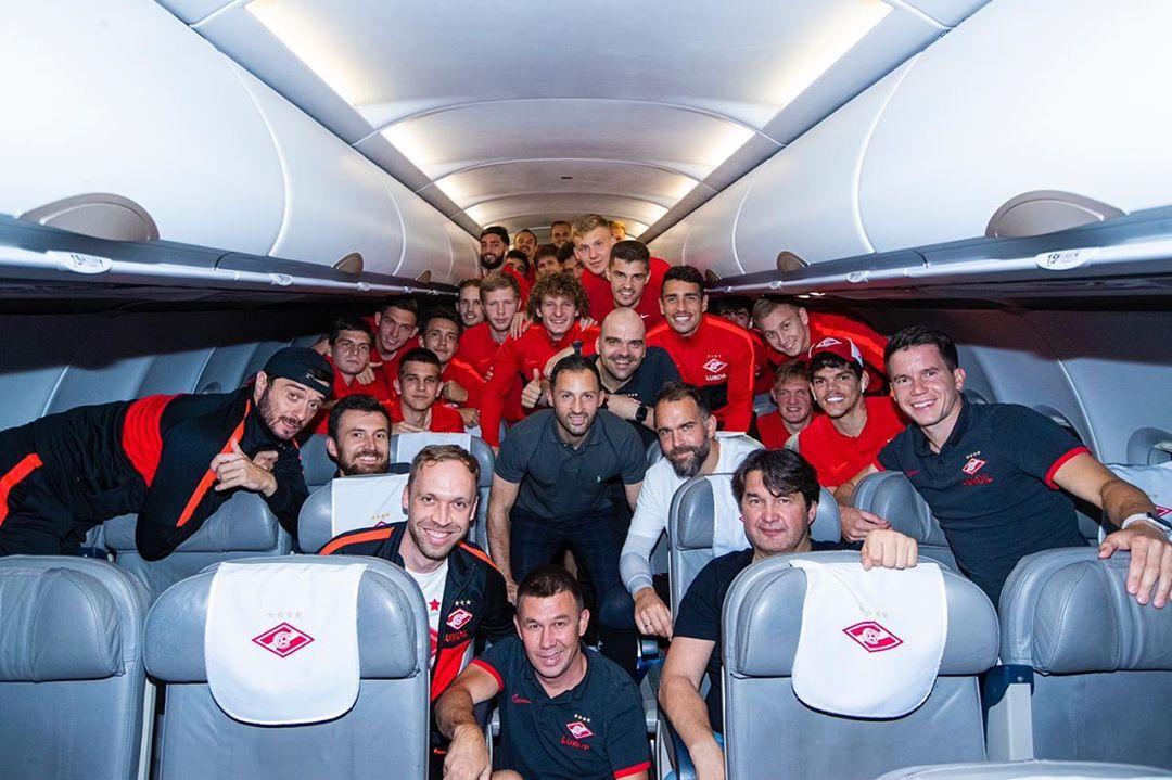 «Спартак» сделал первую в сезоне командную фотографию после матча