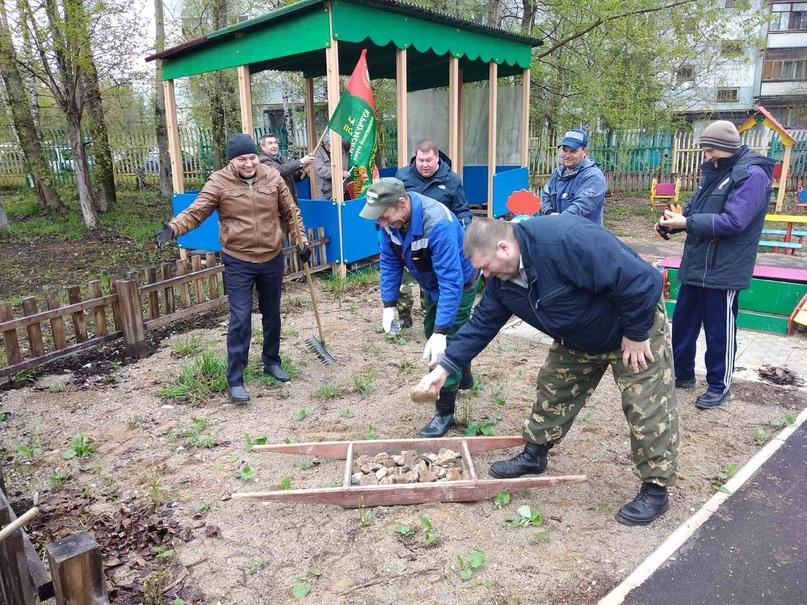 Пограничники Ухты провели субботник, изображение №3