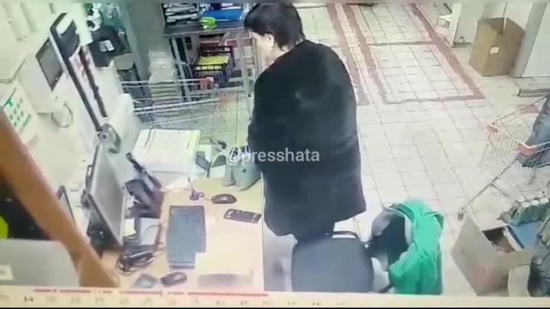 магазинная воровка