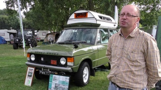 The Range Rover Classic Searle Carawagon at The Billing Off-Road Show 2016 4k 60fps