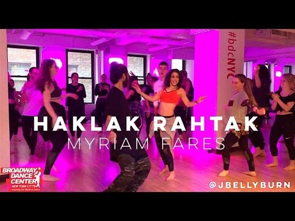 Haklan Rahtak - Myriam Fares @bdcnyc   @jbellyburn Bellydance Fusion Choreography