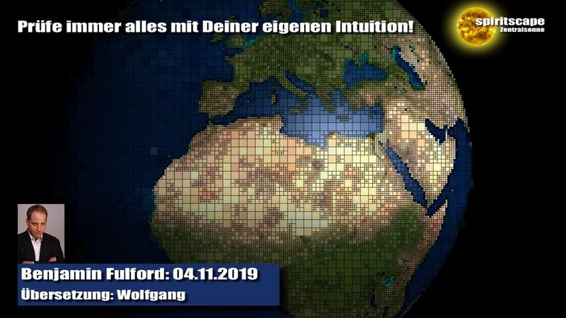 Benjamin Fulford 04.11.2019 (Deutsche Fassung / Echte Lesung)
