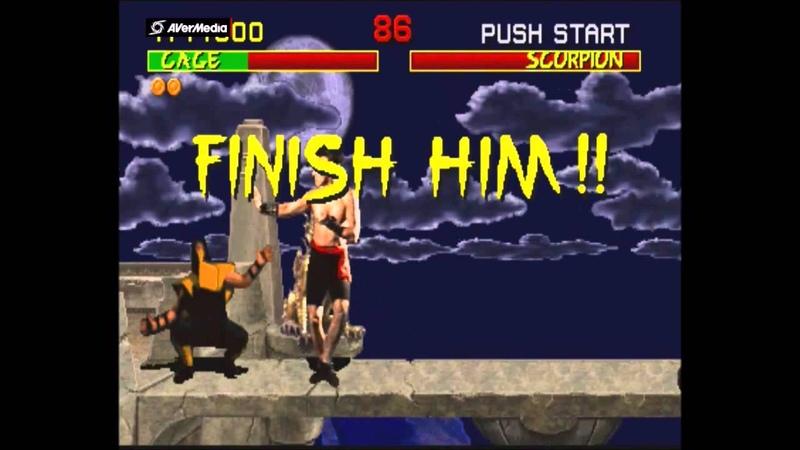 Mortal Kombat Arcade Johnny Cage Gameplay on Very Hard no Continues
