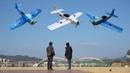 FT Mini Corsair Mustang CRASH DIY RC airplane 비행기 추락 flite test flitetest