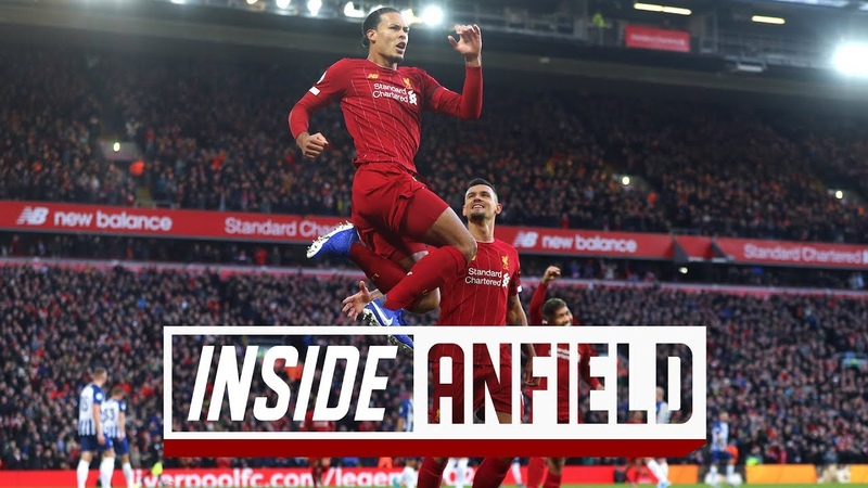 Inside Anfield Liverpool 2 1 Brighton Exclusive behind the scenes tunnel access