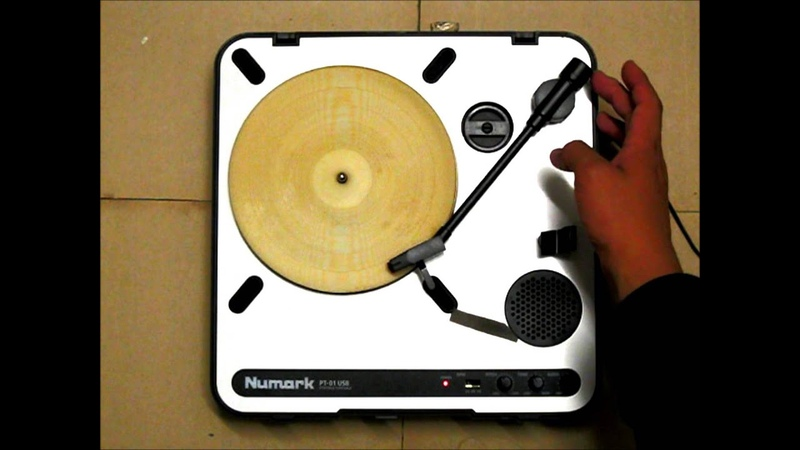 An Actual Playable Tortilla Record Etched with a Laser Cutter