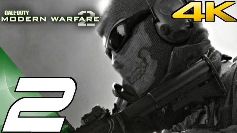 Call of Duty Modern Warfare 2 - Gameplay Walkthrough Part 2 - Wolverines Hornet's Nest [4K 60FPS]