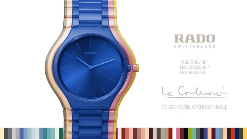 Rado True Thinline Les Couleurs™ Le Corbusier