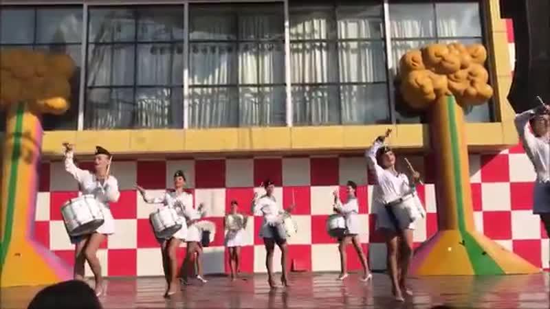 Барабанщицы Морячки Шоу барабанщиц Drumbeat