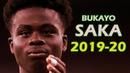 Bukayo Saka 2019/2020 - Arsenal - Amazing Skills Show