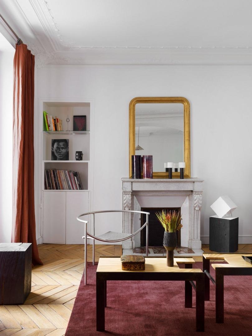 Квартира в Париже по проекту Софи Дрие, 100 м²