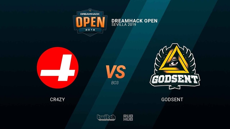CR4ZY vs GODSENT - DH Open Sevilla 2019 - map1 - de_vertigo [SleepSomeWhile MintGod]