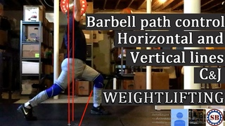 C& path control - Horizontal and Vertical lines./ (Weightlifting & Crossfit)