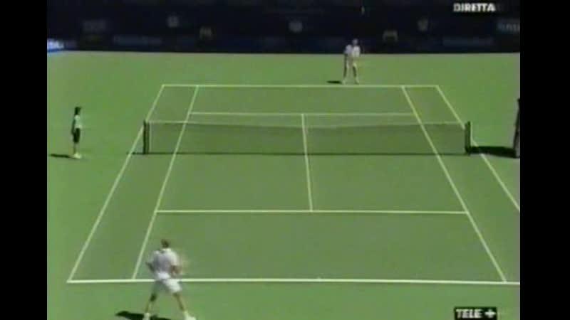 Australian Open 2000 Final Andre Agassi USA Yevgeny Kafelnikov Rus
