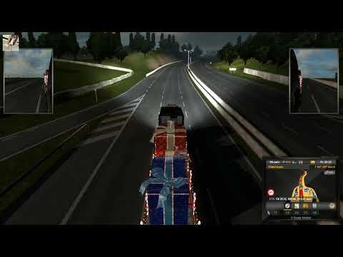 134 Euro Truck Simulator 2 ONLINE 13 Ольга Дальнобоищик VEZU PODARKI