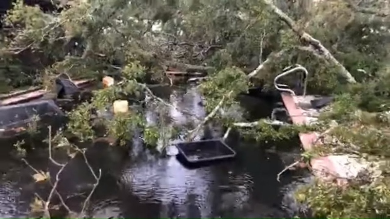 Video shows possible tornado damage in Kathleen, Florida | 10News WTSP