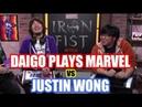 DAIGO UMEHARA Plays Marvel vs JUSTIN WONG Hilarity Ensues Netflix Iron Fist Promotion