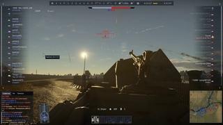 "WarThunder: IS-3 122-mm ""anti-aircraft"" gun."