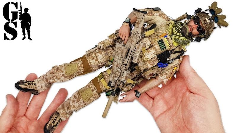 Medal of Honor Voodoo оперативник спецназа США обзор фигурки в масштабе 1 6