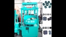 Honeycomb Charcoal Coal Dust Briquette Press Machine Made in China Henan Ling Heng Machinery