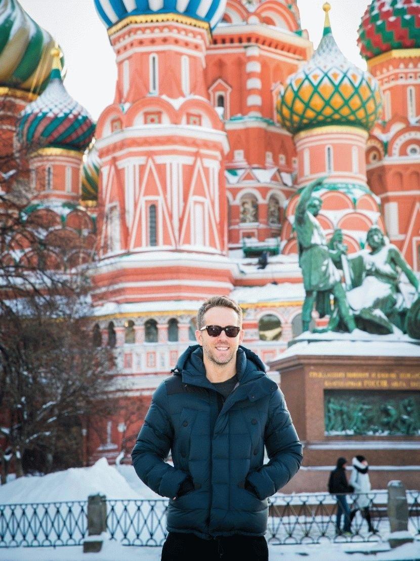 Знаменитости на Красной площади в разные годы