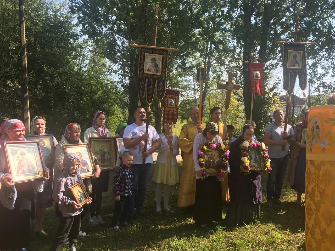 Престольный праздник в храме Святителя Николая Чудотворца