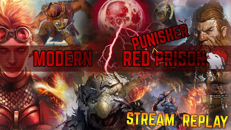 🔥 [Modern] Red Punisher 🔴 ft Embercleave - A Punt - A Victory - What is the Mana Cost Again