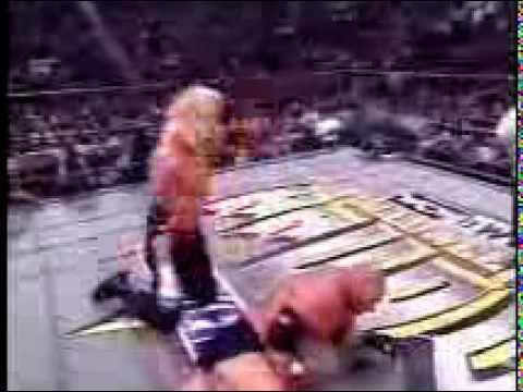 DDP vs Goldberg from 1998 WCW Halloween Havoc Part 2