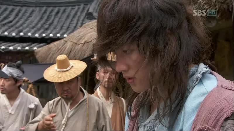 Эпизод из дорамы Воин Пэк Тон Су 13 сер Вот это реакция