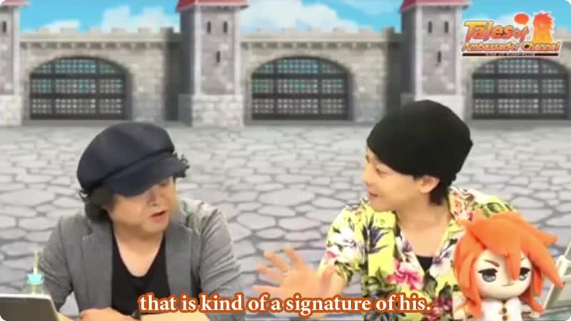 Tales of Ambassador Channel Nobuyuki Hiyama on Veigue's Portrayal within fanbase