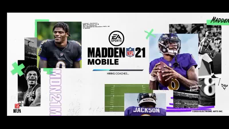 Madden NFL Mobile 21|Вышла, первый взгляд