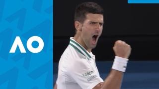 Novak Djokovic vs Daniil Medvedev - 3rd Set Highlights
