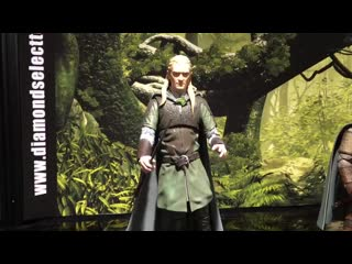 New lord of the rings action figures