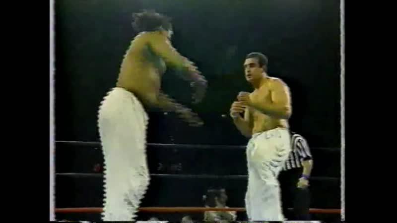 1993.07.13 - Willie Williams vs. Bitsadze Tariel